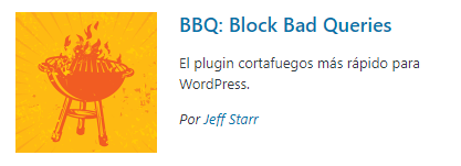 BBQ Block Bad Queries- plugins de seguridad