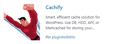 Plugin cache - Cachify