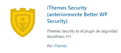 itheme-security - plugins de seguridad