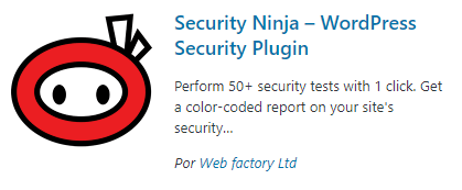Security Ninja - plugins de seguridad